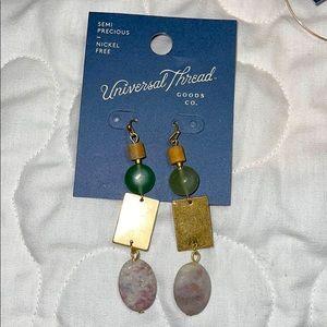 Universal Thread Semi precious earrings